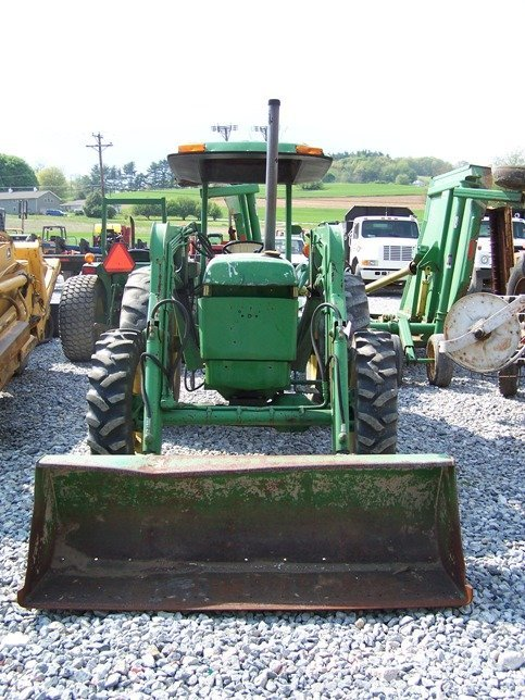 456: John Deere 2150 4x4 Tractor with Loader - 2
