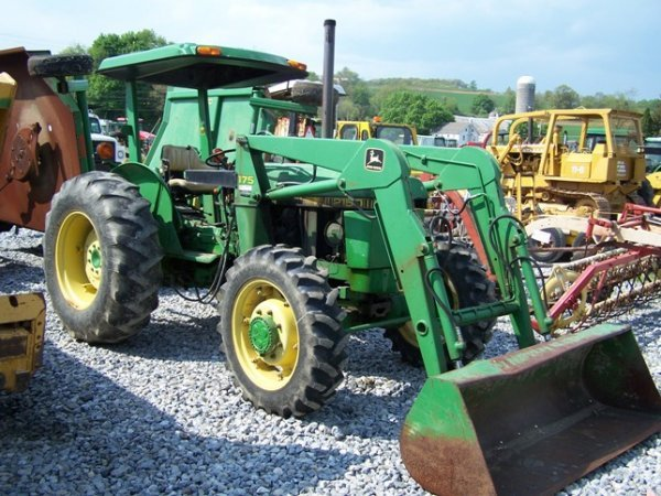 456: John Deere 2150 4x4 Tractor with Loader - 3