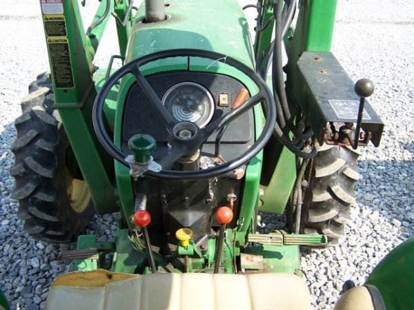 456: John Deere 2150 4x4 Tractor with Loader - 6