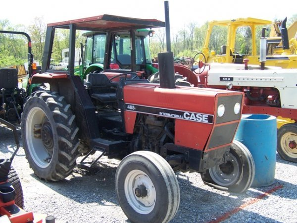 577 Case 485 Compact Tractor Canopy ROPS 1 Remote & Case 485 Compact Tractor Canopy ROPS 1 Remote