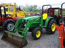 291: John Deere 4710 4x4 Compact Tractor with Loader