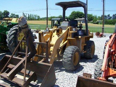 1216: TCM E820 Articulating Wheel Loader Tractor, - 3