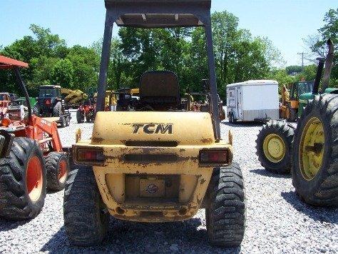 1216: TCM E820 Articulating Wheel Loader Tractor, - 4