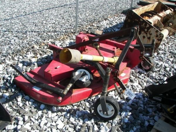 1019: 3pt Taylor Way 6' Finish Mower For Tractors