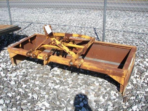 "1023: Taylor Way 86"" 3pt Box Blade for Tractors"