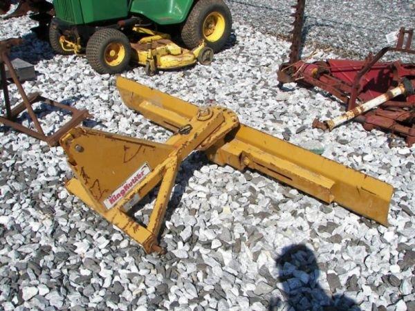 1037: King Kutter 7' 3pt blade for Tractors