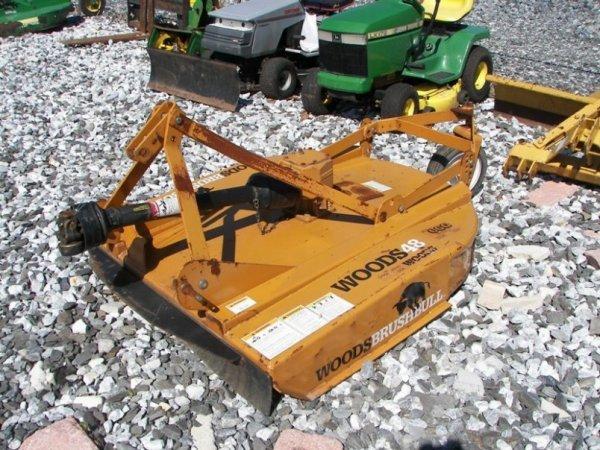 """1042: Woods Brush Bull 48"""" Rotary Mower for Tractors"""