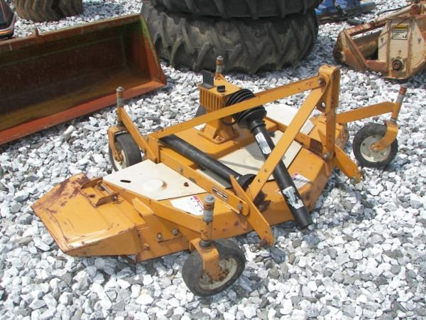 1031: Woods RM550 3pt Finish Mower For Tractors