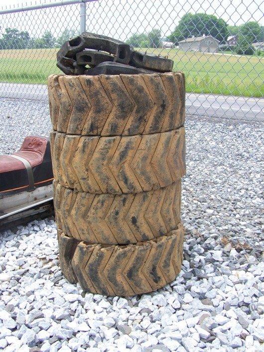1031A: Air Boss Skid Steer Loader Tires