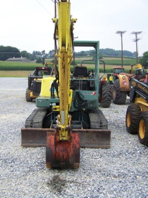 320 yanmar b50 mini excavator with manual thumb lot 320 Yanmar B50 Used Parts B50 Yanmar Model 1990
