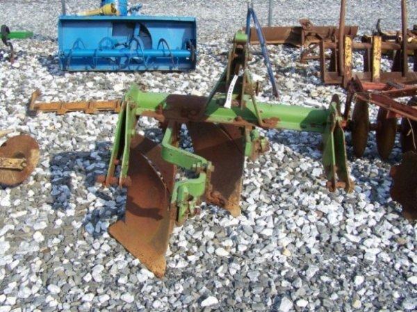 11: Rare John Deere 200 3pt 2 Bottom Plow for Tractors
