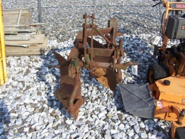 21: John Deere 3pt 2 Bottom Plow for Tractors