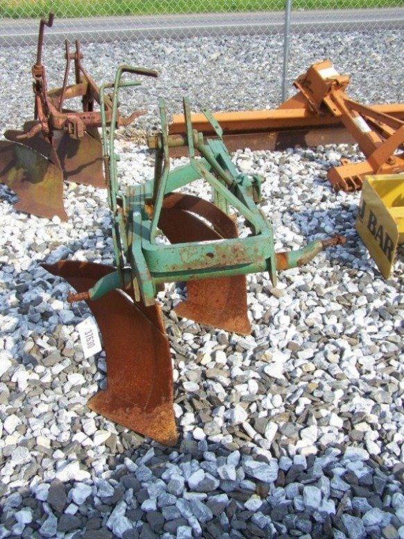 """24: John Deere 14"""" 2 Bottom Plow for Tractors"""
