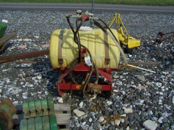31: Century 3pt PTO Drive Sprayer for Tractors