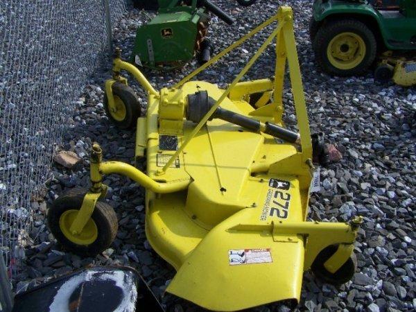 35: John Deere 272 3pt Finish Mower for Tractors - 2