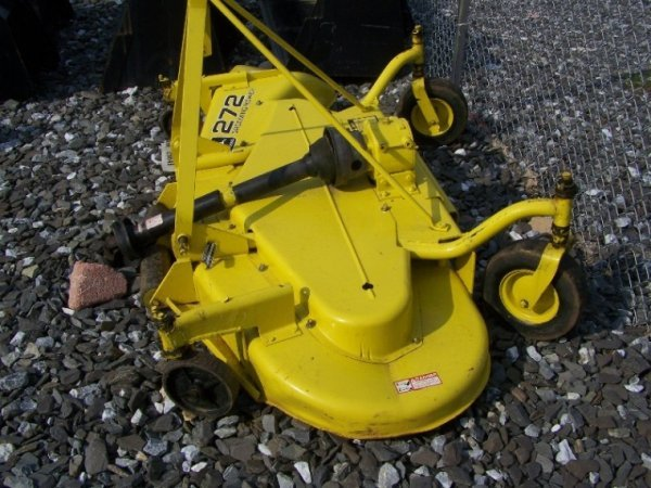 35: John Deere 272 3pt Finish Mower for Tractors - 3
