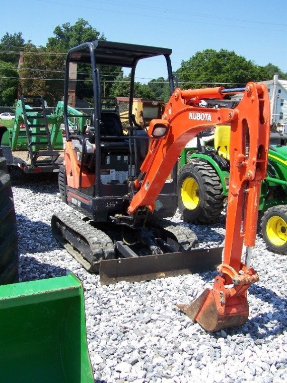 237: Kubota KX41-3V Mini Excavator with OROPS