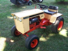 2600 1968 Case 155 Lawn Garden Tractor Nice Original Lot 2600