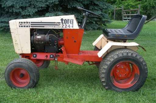 2614: Very Rare 1974 Case Torq 224 Lawn Garden Tractor