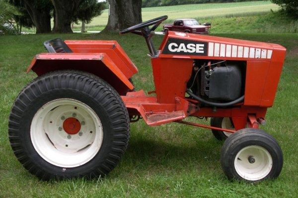 Case 446 Garden Tractor : Case lawn garden tractor lot