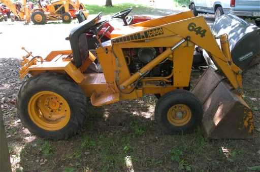 2696 1978 case 644 lawn garden tractor loader - Garden Tractor Loader