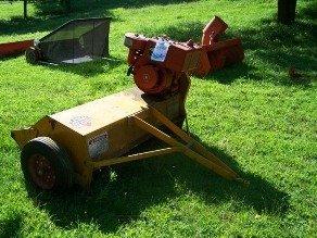 2593: Unused T38 Mott Flail Mower for Garden Tractors