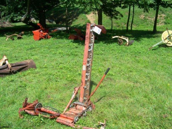 2659a haban 408c 4 39 sickle bar mower garden tractors for Sickle mower for garden tractor