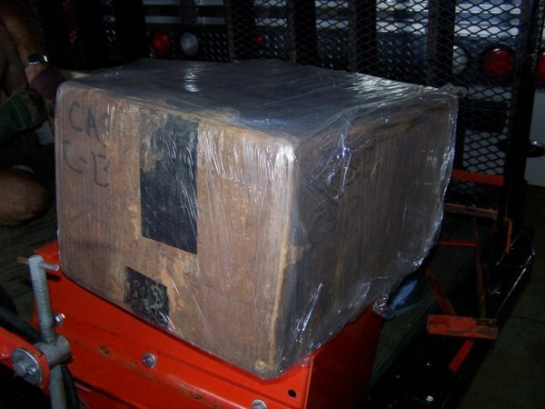 2459: NIB Case H13 Weight Box for Garden Tractor