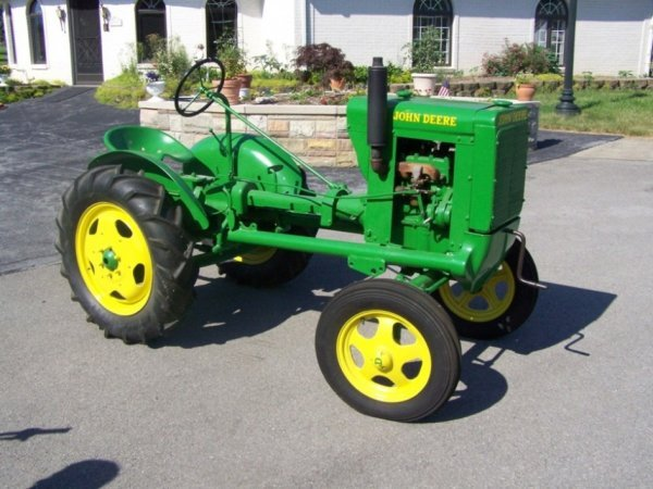 3100: Restored 1937 John Deere Unstyled L Antique Tract
