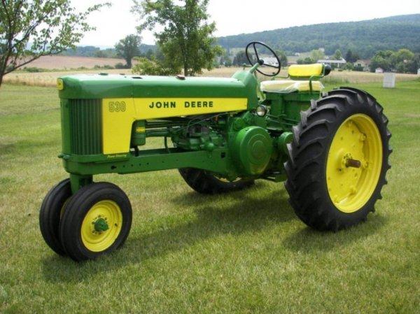 3103: 1959 John Deere 530 Antique Tractor, Very Nice