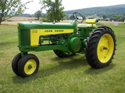Chinese Antique Tractors : John deere antique tractor very nice