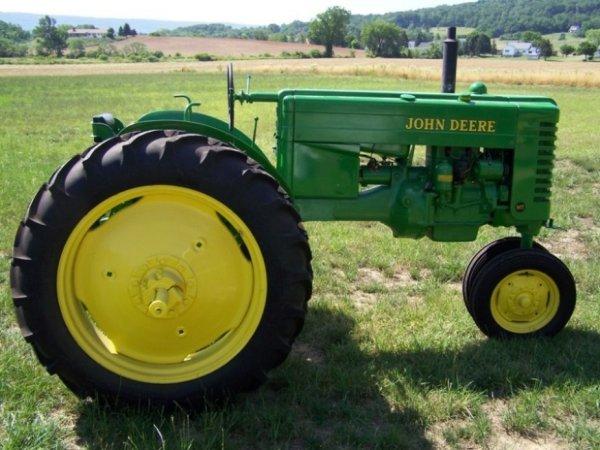 3107: 1951 John Deere MT Antique Tractor Restored, PTO