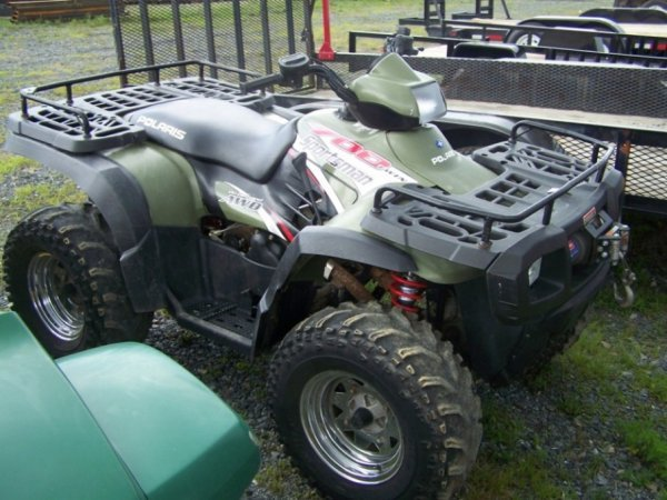 6: Polaris Sportsman 700 4x4 Utility Vehicle