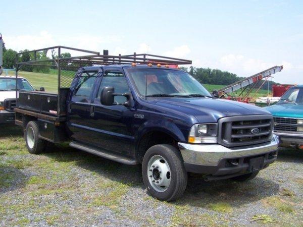 26: 2001 Ford F450 4x4 Super Duty Pick Up Truck, Diesel