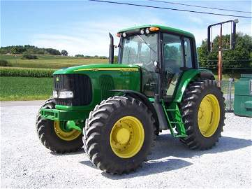 4168: John Deere 7320 4x4 Farm Tractor with Cab, IVT