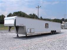4243: 2003 Cargo Mate 48' Enclosed Race Car Trailer