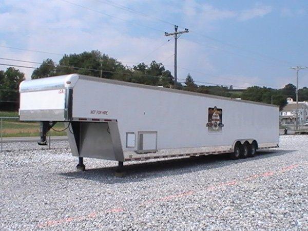 4243: 2003 Cargo Mate 48' Enclosed Race Car Trailer