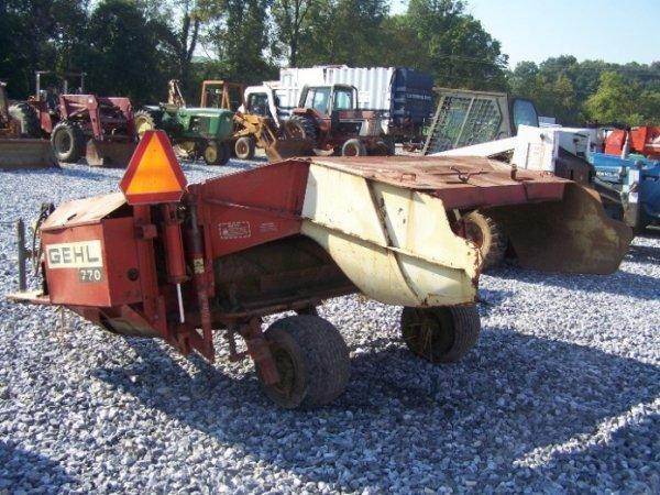 4377: Gehl 770 7' Haybine For Tractor  - 3