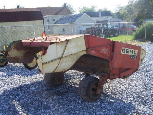 4377: Gehl 770 7' Haybine For Tractor  - 5