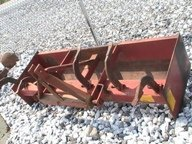 """4032: 3pt 72"""" Box Blade for Tractors with Scarifier"""