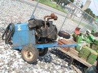 4042: Miller Pull Behind Welder with 2 Cylinder Gas Eng
