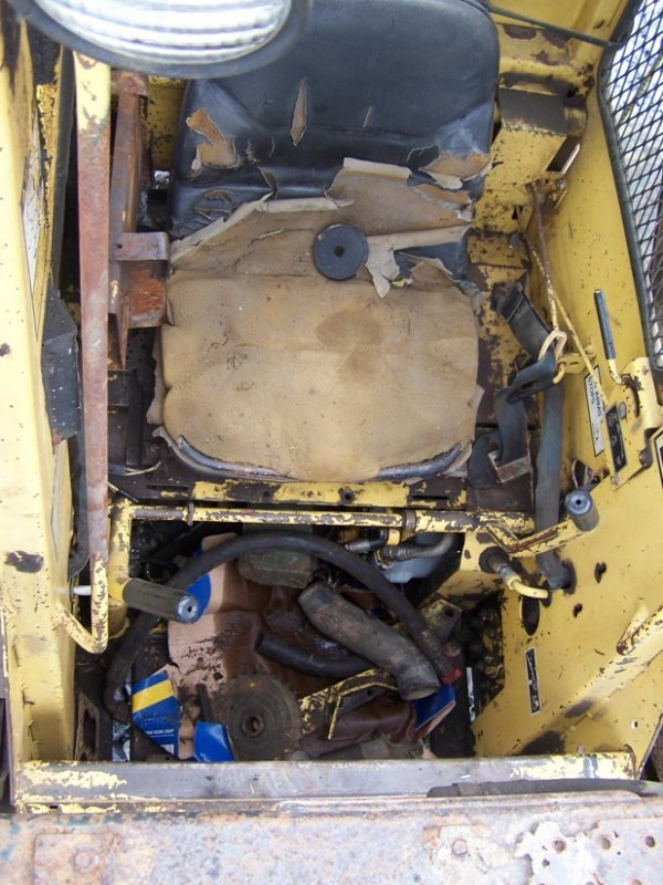 102: New Holland 553 Skid Steer Loader OROPS, AS-IS - 8