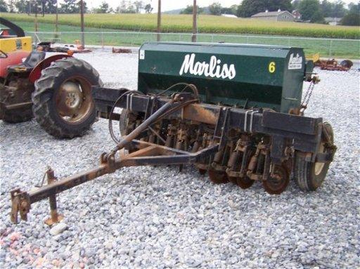 251 Marliss 6 No Till Grain Drill For Tractors