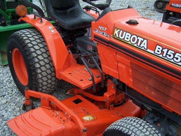 Kubota Belly Mower Parts : Kubota b compact tractor with belly mower