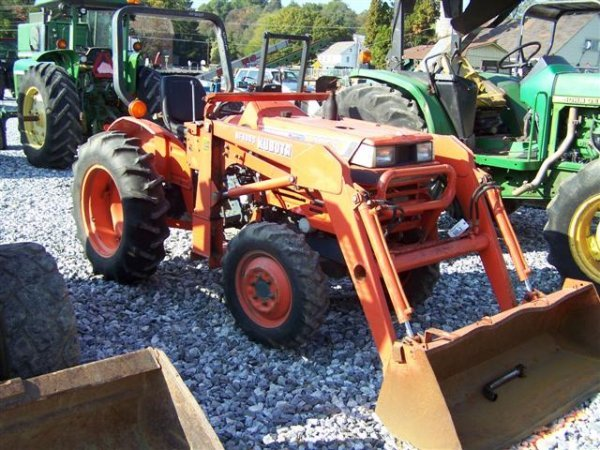 Kubota L2050 4x4 Compact Tractor with Loader – L2050 Kubota Tractor Wiring Diagrams