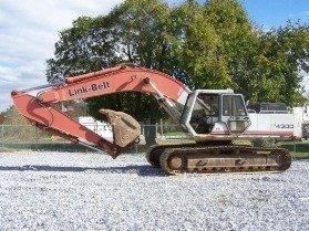 1342: Link-Belt LS4300 Excavator with OROPS