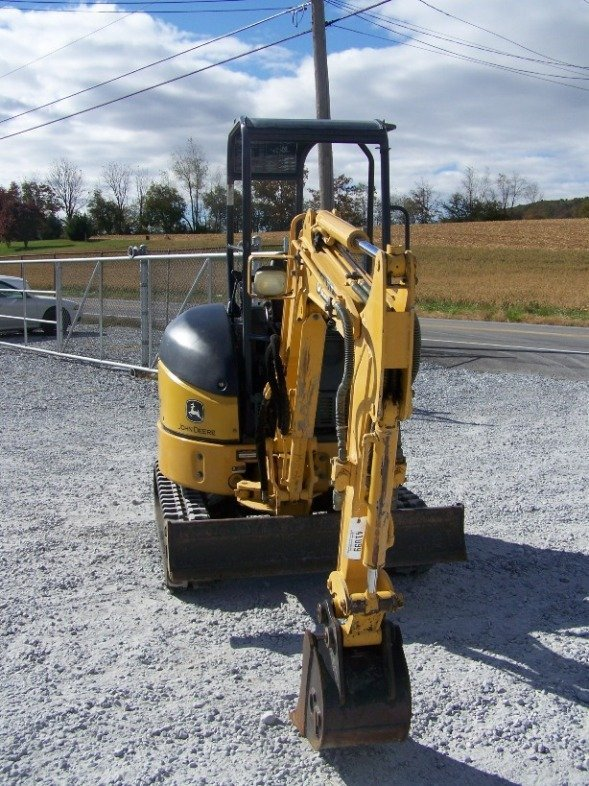 1296: John Deere 17 ZTS Mini Excavator with OROPS - 2