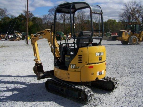1296: John Deere 17 ZTS Mini Excavator with OROPS - 4