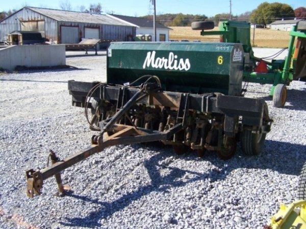 1487: Marliss 6' No Till Grain Drill for Tractors - 2