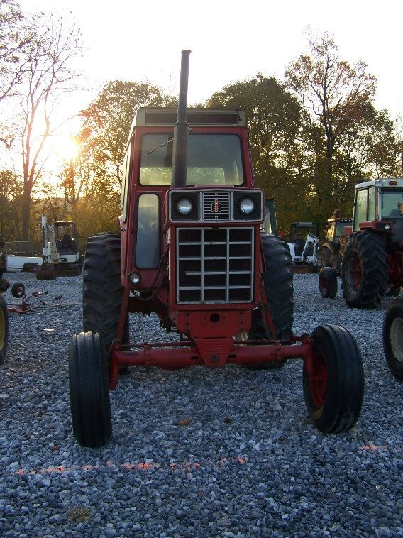1484: International 766 Farm Tractor with Cab, Dual PTO - 2
